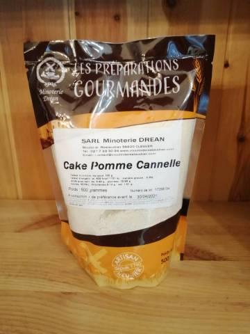 Farine pour Cake Pomme Cannelle - Minoterie Dréan