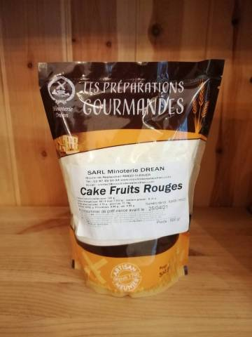 Farine pour Cake Fruits Rouges - Minoterie Dréan