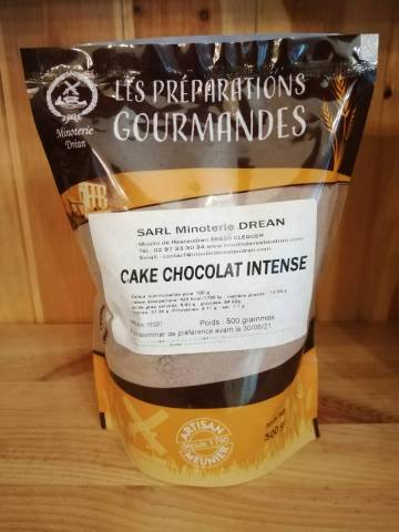 Farine pour Cake Chocolat intense - Minoterie Dréan