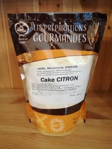 Farine pour Cake Citron - Minoterie Dréan